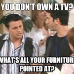 owning a tv